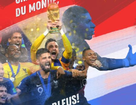 Momento esporte: depois de 20 anos, a França é bi campeã do mundo!