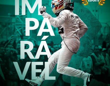 Momento esporte: Lewis Hamilton imparável!