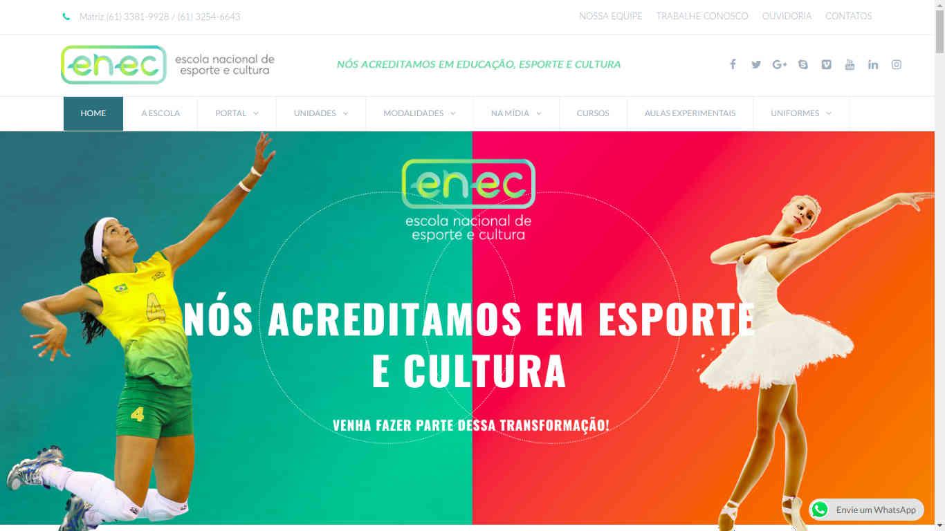 Home Site Grupo ENEC