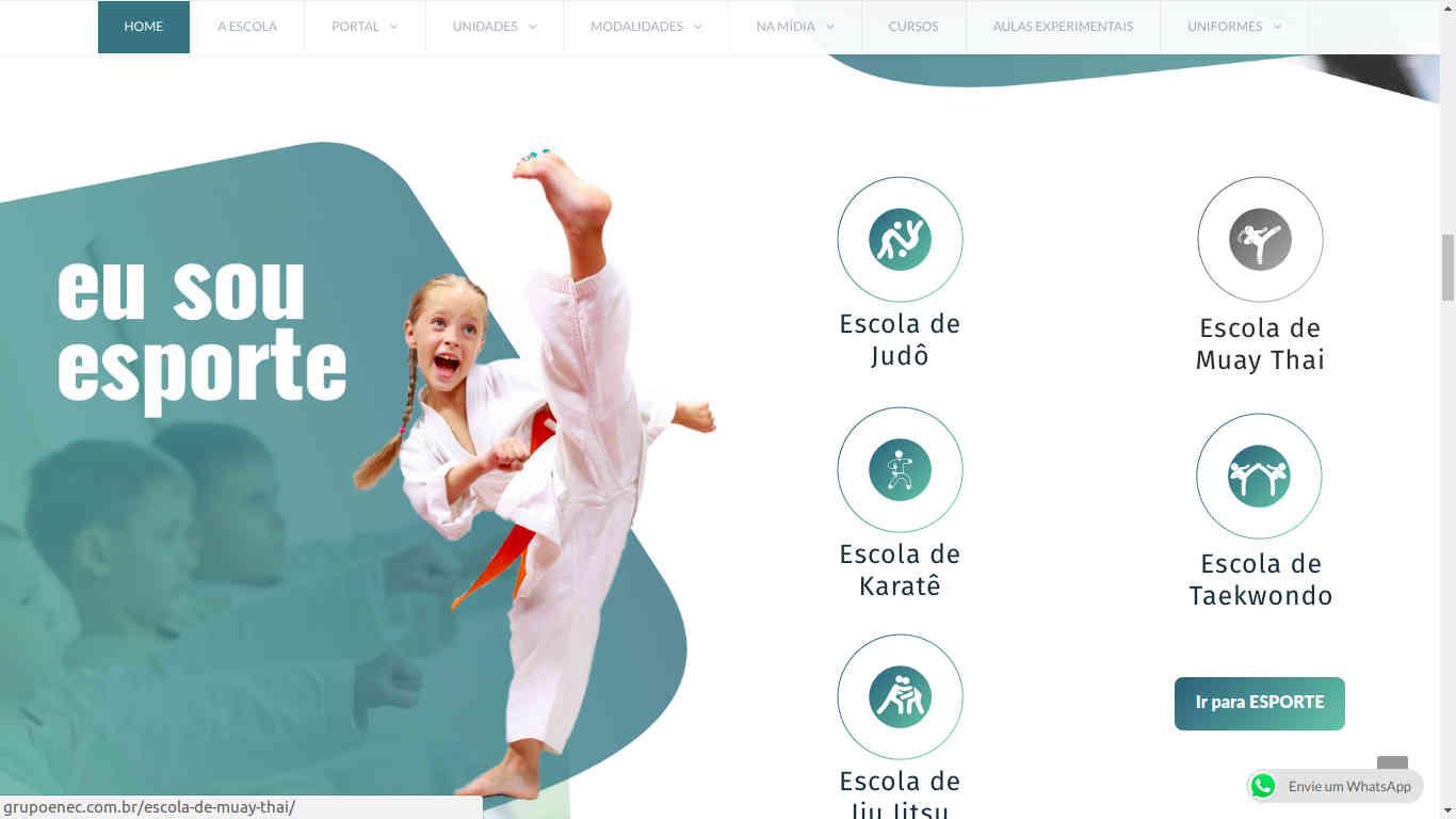 Site Grupo ENEC