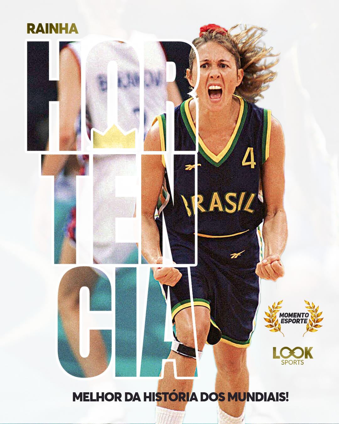 O momento esporte desta sexta-feira é especialmente dedicado à rainha do  basquete brasileiro  Hortência! A atleta brasileira Hortência foi eleita  nesta ... 6bb4de88b5b50