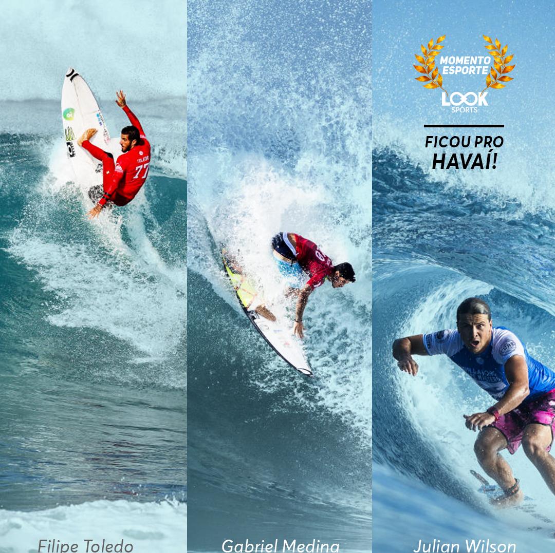 Brasileiros na decisão do Mundial de surfe