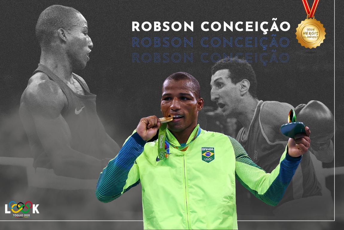 a história de robson conceição
