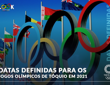 DATAS DEFINIDAS PARA OS JOGOS OLÍMPICOS DE TÓQUIO EM 2021